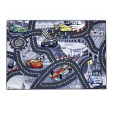 Tapis enfant Cars 133 x 95 cm Disney grey