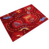 Tapis enfant Cars 133 x 95 cm Disney red