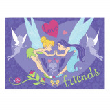 Tapis enfant Fee Clochette 133 x 95 cm Friends