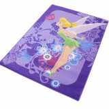 Tapis enfant Fee Clochette 133 x 95 cm Tropical
