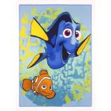 Tapis enfant Dory et Nemo 133 x 95 cm calls