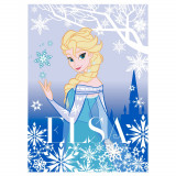 Tapis la reine des neiges 133 x 95 cm
