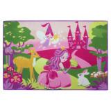 Tapis enfant Princesse Fee 120 x 80 cm chambre