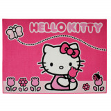 Tapis enfant Hello Kitty 133 x 95 cm Papillon