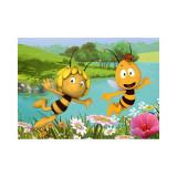 Tapis maya l'abeille 133 x 95 cm