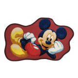 Tapis enfant Mickey Mouse 80 x 50 cm cm Disney forme