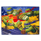 Tapis enfant Les Tortues Ninja 133 x 95 cm Disney Ninja Turtles