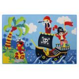 Tapis enfant Pirate 120 x 80 cm chambre