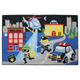 Tapis enfant Police 120 x 80 cm chambre