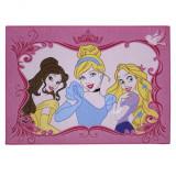 Tapis enfant Princesse 133 x 95 cm Disney Elegance