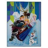 Tapis La Reine des Neiges 125 x 95 cm Digital Ana Elsa Olaf