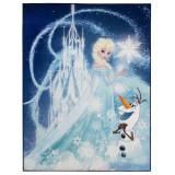 Tapis Digital enfant La Reine des Neiges 125 x 95 cm chambre