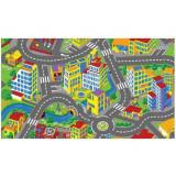 Tapis de route 80 x 120 cm circuit ville voiture enfant