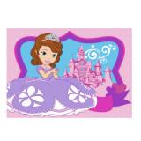 Tapis enfant Princesse Sofia 133 x 95 cm Castle