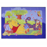 Tapis enfant Winnie l'Ourson 133 x 95 cm Disney Picnic
