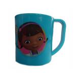Tasse Doc la peluche Disney mug plastique gobelet enfant bleu