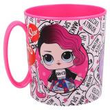 Tasse Lol Micro Onde mug Plastique Enfant Reutilisable