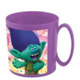 Tasse Les Trolls Poppy Micro onde Disney mug plastique gobelet enfant