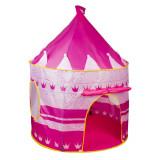 Chateau en tissu rose cabane tente maison jouet enfant