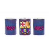 Tirelire en metal FC Barca enfant Barcelone