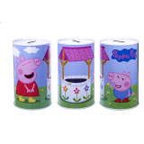 Tirelire en metal Peppa Pig Disney Enfant Cochon