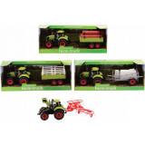 Tracteur avec remorque 30 cm jouet ferme enfant