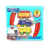 Train et rail jouet enfant plastique wagon locomotive