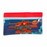 Trousse enfant Blaze et les Monster Machines Disney toilette zip bleu