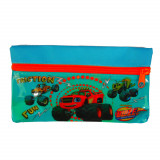 Trousse enfant Blaze et les Monster Machines Disney toilette zip rouge