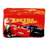 Trousse enfant Cars Disney 25 x 15 toilette orange