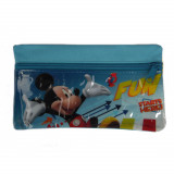 Trousse enfant Mickey Mouse Disney toilette zip bleu