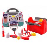 Valise de docteur jouet stethoscope seringue mallette enfant