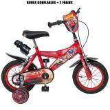 Vélo officiel Cars 12 pouces Disney enfant garçon