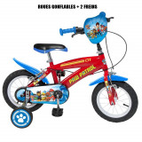 Vélo Pat Patrouille 12 pouces Disney enfant