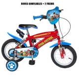 Vélo officiel La Pat Patrouille 12 pouces Disney enfant garçon
