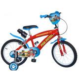Vélo enfant 16 pouces la Pat Patrouille bleu Licence Officielle Disney