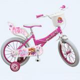 Vélo officiel La Pat Patrouille 16 pouces Disney enfant fille