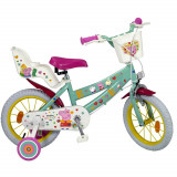 Velo 14 pouces Peppa Pig Disney Fille 4/6 ans