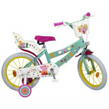 Velo 16 pouces Peppa Pig Disney Fille 5/7 ans