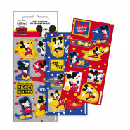 Lot 3 planche de Stickers Mickey Autocollant 12 x 6 cm NEW