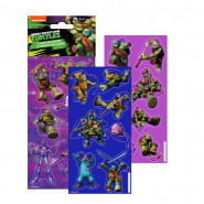 Lot 3 planche de Stickers Tortue Ninja Autocollant Disney 12 x 6 cm scrapbooking