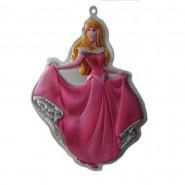 Princesse Aurore décoration murale 3D Disney enfant, stickers tableau