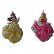 Princesse Aurore et Belle décoration murale 3D Disney enfant, stickers tableau