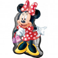 Grand ballon Minnie Mouse hélium neuf sac