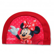 Bonnet de bain Minnie Fille rouge enfant