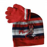 Bonnet Gants Minnie Mouse Rouge Taille 52 Disney enfant