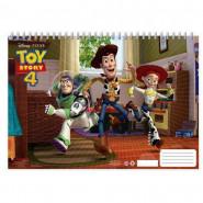 Cahier de dessin Toy Story livre de coloriage Stickers Regle Pochoir Album