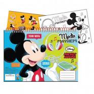 Cahier de dessin, livre de coloriage A4 + Stickers Mickey