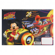 Cahier de dessin Mickey livre de coloriage Stickers Regle Pochoir Disney