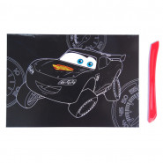 Carte à gratter Disney Cars Scratch cards enfant 15 x 21 cm mod 1